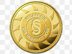 Coins - Solar Energy Generating Systems Solar Power SolarCoin Solar Panels Blockchain PNG