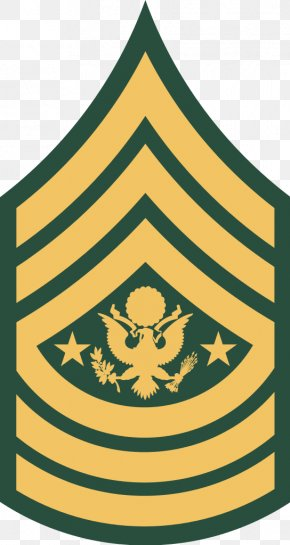 Army - Sergeant Major Of The Army United States Army Enlisted Rank Insignia PNG