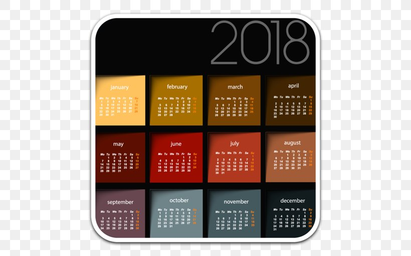 Calendar 0 Template Png 512x512px 2017 2018 Calendar Computer Software Coreldraw Download Free