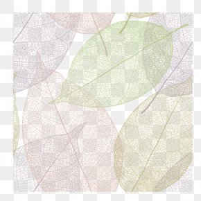 Fresh Leaf Shading Lines - Textile Angle Lilac Pattern PNG