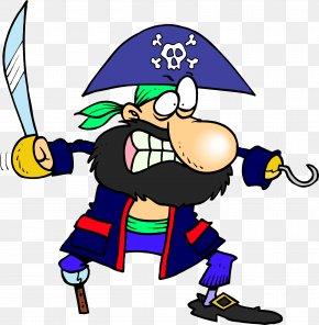 Pirate - Captain Hook Piracy Pegleg Royalty-free Sticker PNG