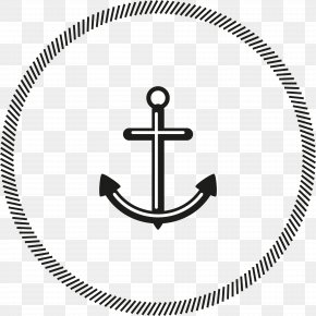 Simple Ship Anchor Decorative Pattern - T-shirt Beer Top Crew Neck Clothing PNG