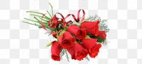 Mothers Day Border Flower Bouquet - Flower Bouquet Clip Art Rose PNG