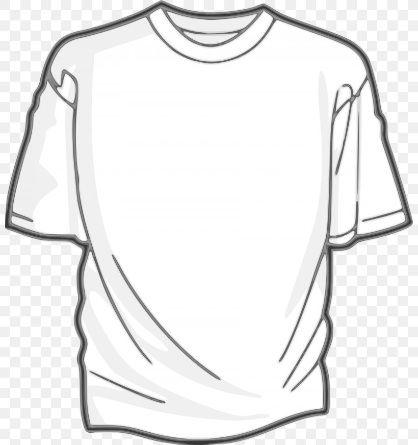 T-shirt Clip Art Clothing, PNG, 800x872px, Tshirt, Black, Black And White, Clothing, Dress Download Free