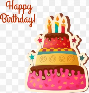 Birthday Cake - Birthday Cake Cupcake Wedding Cake Icing Chocolate Cake PNG