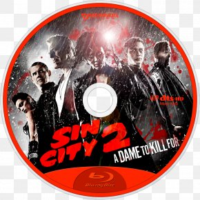 Sin City - Film Sin City Blu-ray Disc Album Cover Television PNG