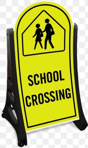 Sidewalk Sale Banner Summer Sidewalk - School Zone Traffic Sign Clip Art PNG
