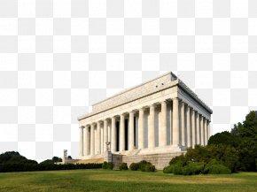 Famous Lincoln Memorial - Lincoln Memorial New York City Niagara Falls Arlington Memorial Bridge Tourist Attraction PNG