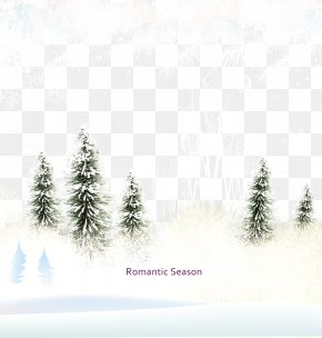 Fluttering Snowflakes - Snowflake Tree Computer File PNG