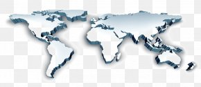Beautiful World Map - World Map United States Continent PNG
