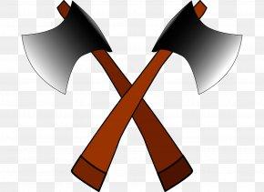 Decorative Ax - Battle Axe Clip Art PNG