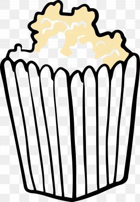 Full Of Popcorn - Popcorn Drawing Animation Cinema Clip Art PNG