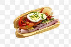 Ham - Bánh Mì Submarine Sandwich Ham And Cheese Sandwich Baguette PNG