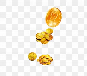Gold,coin,money,financial,Property Element - Gold Coin Finance Real Property PNG