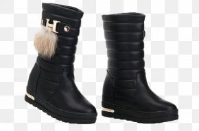 Snow Boots - Snow Boot Shoe Fur PNG