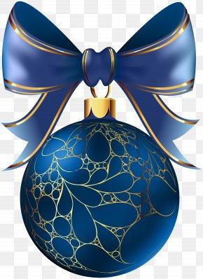 Christmas Ball Blue Transparent Image - Christmas Clip Art PNG