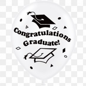 Congratulations To The New Year - Balloon Graduation Ceremony Twin Infant Font PNG