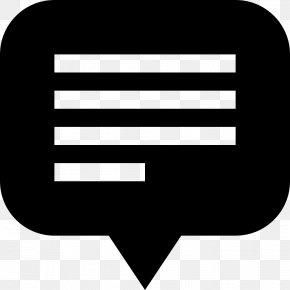 Text - Clip Art Speech Balloon Text PNG