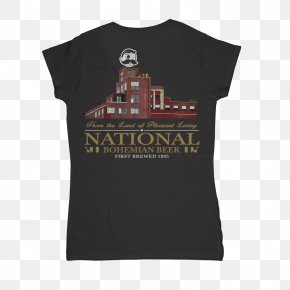 Bohemian National Wind - T-shirt Clothing National Bohemian Beer PNG