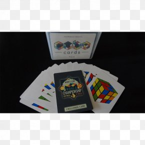 Rubik's Cube Card - Playing Card Game Cube Saturn Magic Ltd Explanation PNG