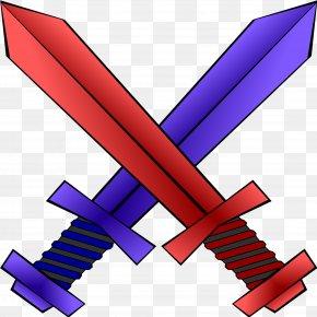 Vs - Sword Weapon Clip Art PNG