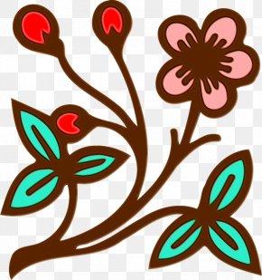 Flower Plant - Clip Art Pedicel Plant Flower PNG