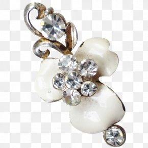 Flowers Jewelry Material - Earring Pearl Jewellery Brooch PNG