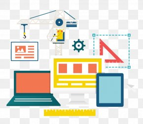 Computer Architectural Drawing Flat - Web Hosting Service Website Domain Name World Wide Web Server PNG