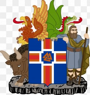Coat Of Arms Of Chad - Kingdom Of Iceland Coat Of Arms Of Iceland Flag Of Iceland PNG