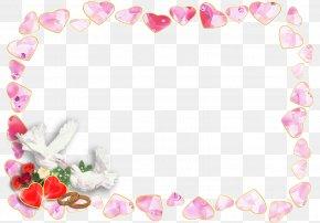 Wedding - Wedding Invitation Picture Frames Desktop Wallpaper PNG