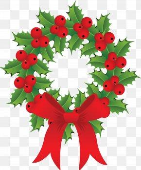 Creative Christmas Wreath - Christmas Ornament Santa Claus Christmas Decoration Wreath PNG