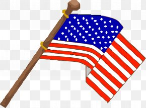 Usa Flag - Veterans Day Clip Art PNG