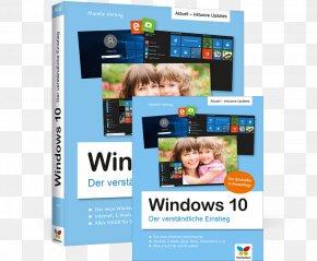 Aktualisierte Neuauflage Des BestsellersInklusive Aller Updates! Windows 10 : Der Verständliche Einstieg Microsoft Windows Computer SoftwareWindows 10 Dvd Cover - Windows 10: Der Verständliche Einstieg. Das Praxis-Handbuch Zu Windows 10 In Farbe PNG