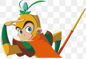 Cartoon Sun Wukong - Sun Wukong Journey To The West Animation Cartoon Monkey PNG