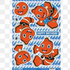 Clown Fish - Paper Decoupage Art Craft PNG