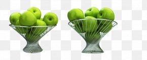 Fresh Green Apple - Apple Green Basket PNG