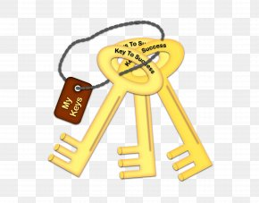 Success - Key Chains Cartoon Clip Art PNG