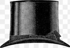 Top Hat - Top Hat Vintage Clothing Antique Clip Art PNG