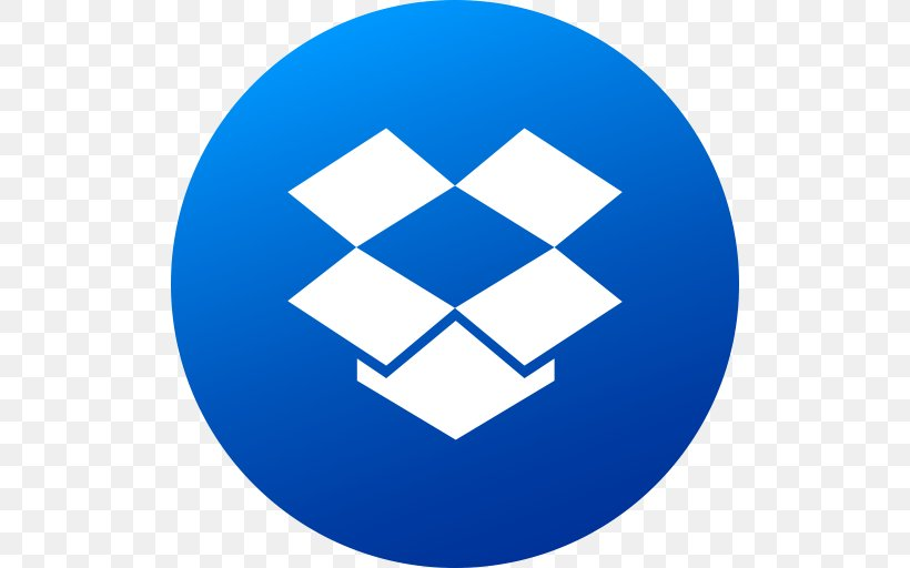 Dropbox Mobile App Application Software Computer File, PNG, 512x512px, Dropbox, Android, Area, Ball, Blue Download Free
