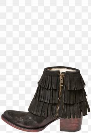 Fringe - Footwear Shoe Suede Boot Leather PNG