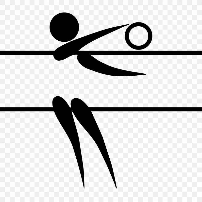 Summer Olympic Games Volleyball At The Summer Olympics Pictogram, PNG, 1200x1200px, Summer Olympic Games, Area, Artwork, Beach Volleyball, Black Download Free