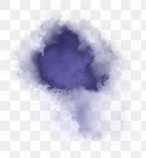 Cloud Sky - Violet Blue Purple Sky Cloud PNG
