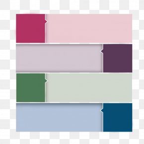 PPT Colored Rectangle Decorative Pattern - Rectangle Color PNG