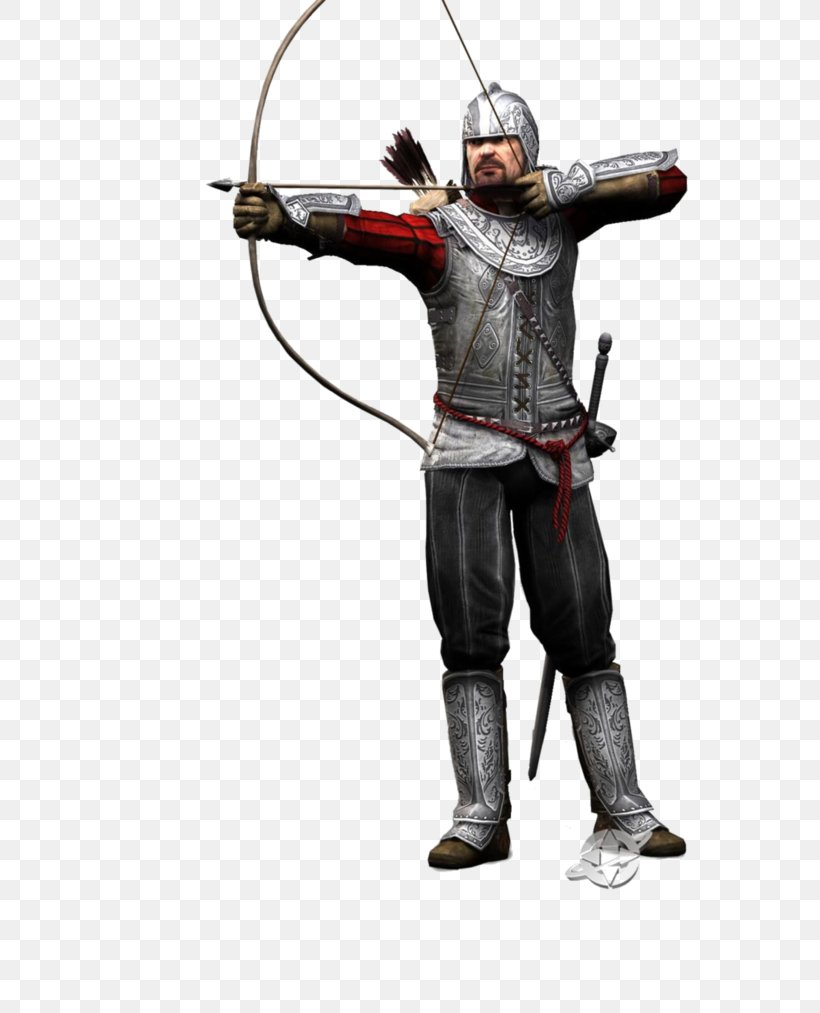 Assassin's Creed II Ezio Auditore Assassins Game, PNG, 788x1013px, Ezio Auditore, Action Figure, Assassins, Bow And Arrow, Cold Weapon Download Free