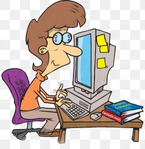Computer - Computer Animation Cartoon Clip Art PNG