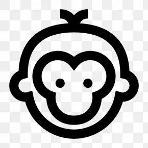 Year Of The Monkey - Monkey Common Chimpanzee Clip Art PNG