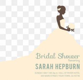 Wedding - Wedding Invitation Bride Bridal Shower PNG
