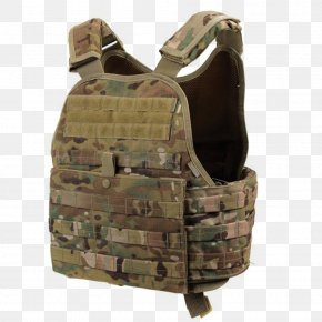 Vest - Bullet Proof Vests Gilets MOLLE Soldier Plate Carrier System MultiCam PNG