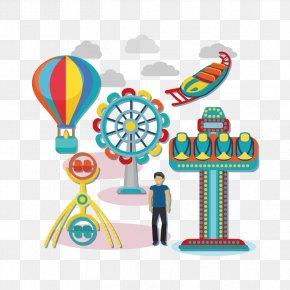 And Playground - Balloon Playground Watercraft Clip Art PNG