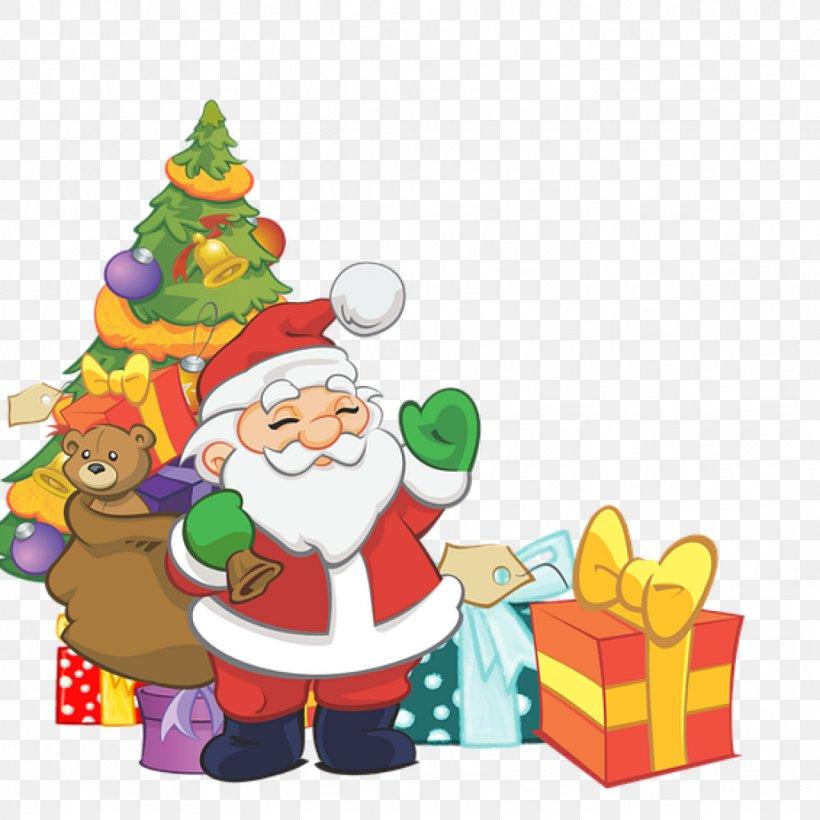 Santa Claus Rudolph Mrs. Claus NORAD Tracks Santa Clip Art, PNG, 1024x1024px, Santa Claus, Cartoon, Christmas, Christmas Card, Christmas Day Download Free